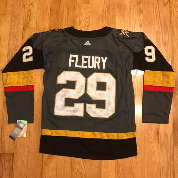 Las Vegas Golden Knights NHL Hockey Jersey FLEURY dfd3dd7e9